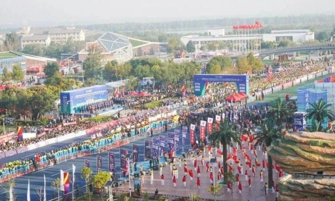 2020衡水湖马拉松赛本月20日开跑,10公里健康跑今日起报名开始了!